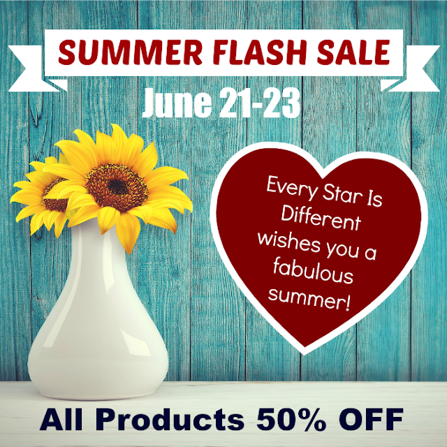 Summer Flash Sale at Every Star Is Different
