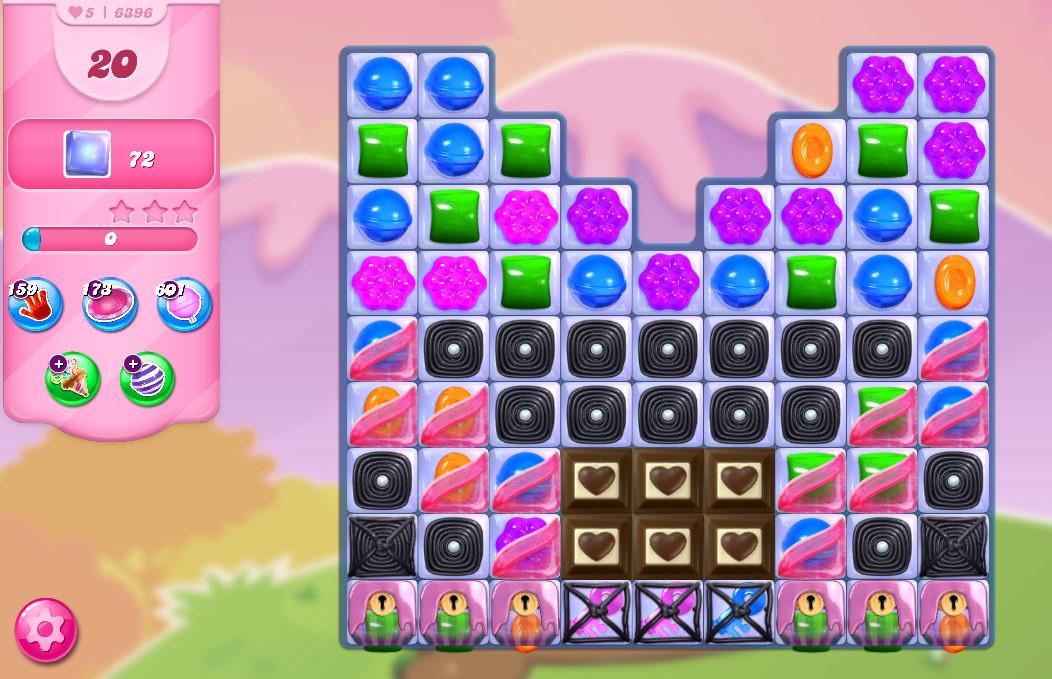 Candy Crush Saga level 6396