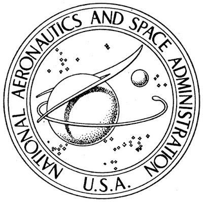 logo awal NASA Amerika Serikat