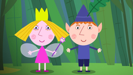 ben and hollys little kingdom meet the characters