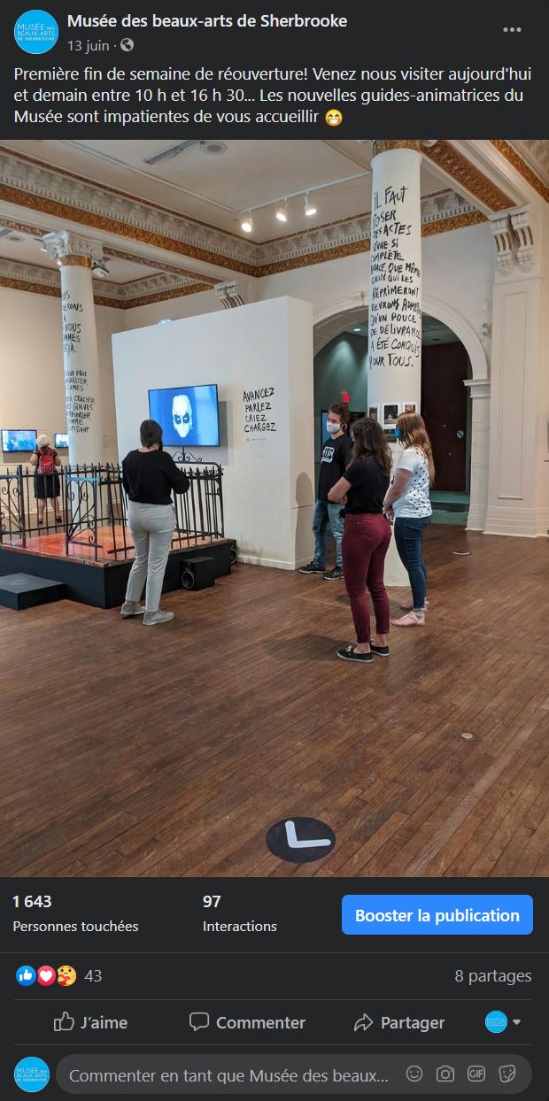 Site Web du Musée des beaux-arts de Sherbrooke