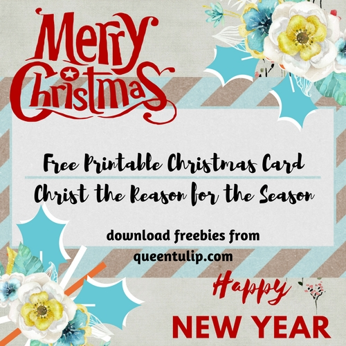 Free printable christmas greeting cards 2017 queentulip christ yeshua or jesus the reason for the season always free printable christmas greeting cards m4hsunfo