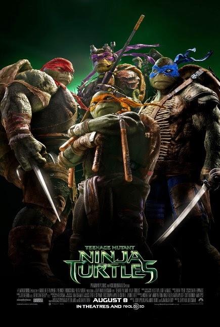 Teenage Mutant Ninja Turtles (2014) movie review by Glen Tripollo