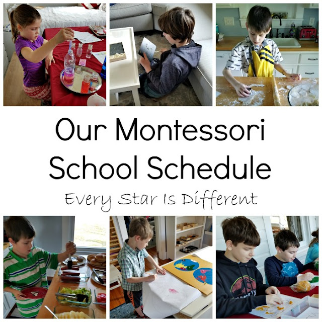 Our Montessori School Schedule