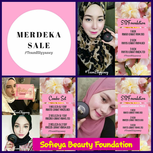MerryFendy Simple Blogs: SOFIEYA BEAUTY FOUNDATION - Glam & Glow