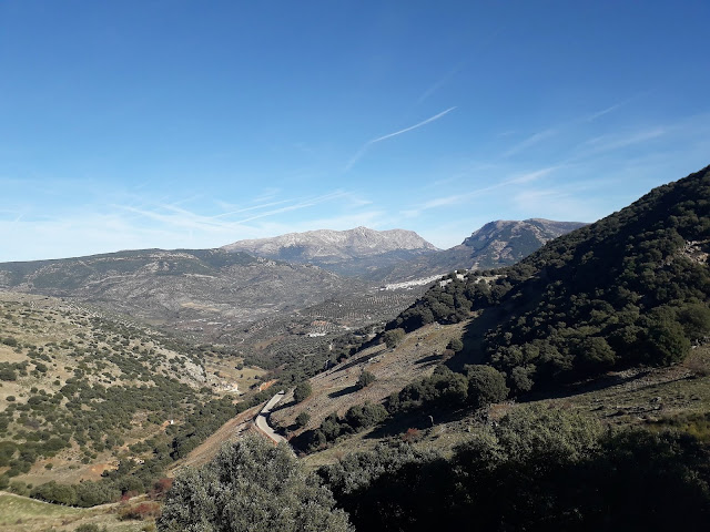 Mountains of Sierra Sur de Jaen, Valdenpenas View