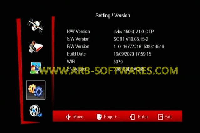 SUNPLUS 1506T-F 512 4M SGR1 V10.08.15 MEGA SHARE-DIRECT BISS KEY OPTION NEW SOFTWARE 16-9-2020