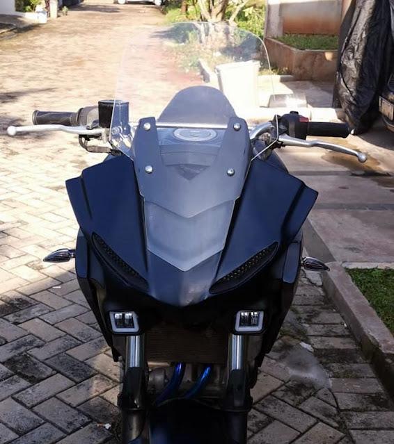 Cadas, Modifikasi R25 Adventure Ala-Ala Tracer 700