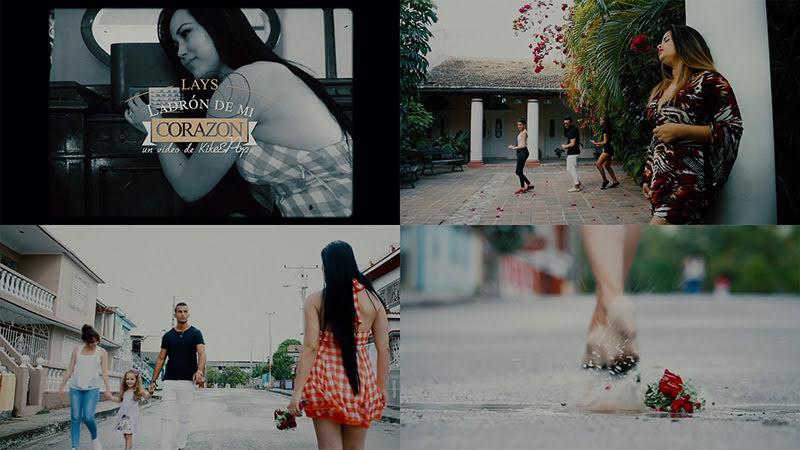 Lays - ¨Ladrón de mi corazón¨ - Videoclip - Dirección: Enrique Velázquez (Kike). Portal del Vídeo Clip Cubano