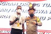 Kapolda Jateng Launching Program Orang Tua Asuh Bagi Pelajar Papua