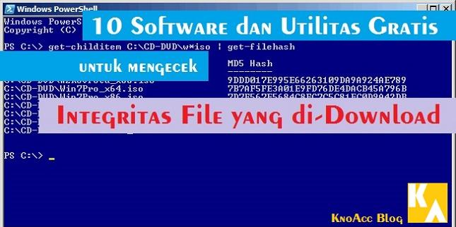 10 Software Gratis Hash/Checksum
