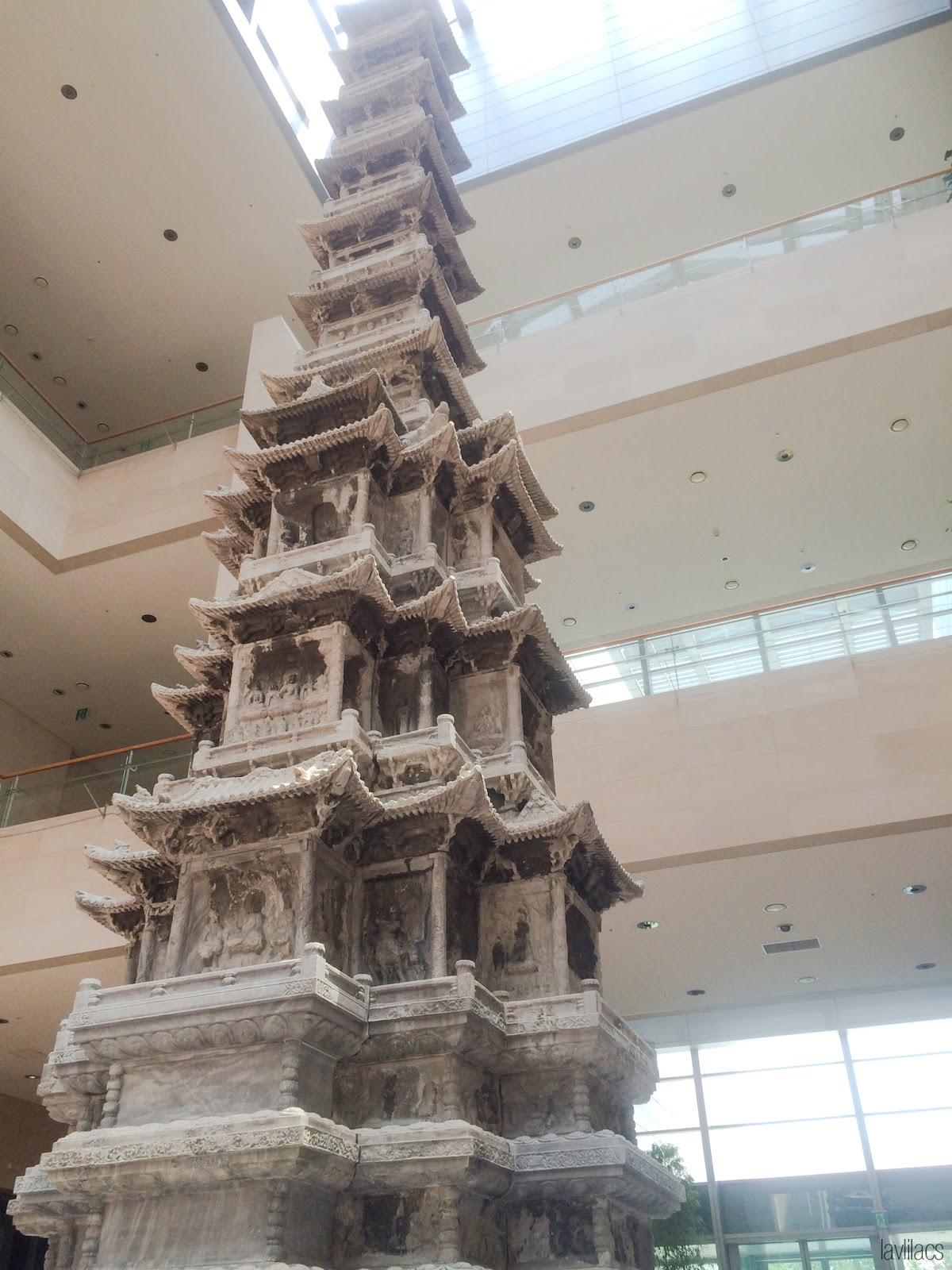 Seoul, Korea - Summer Study Abroad 2014 - National Museum of Korea 국립중앙박물관 pagoda