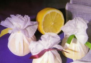 wrapped lemons