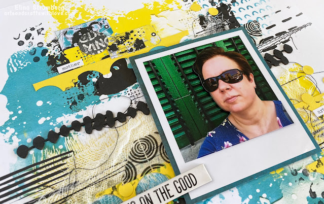 Scrapbooking layout: Focus on the good