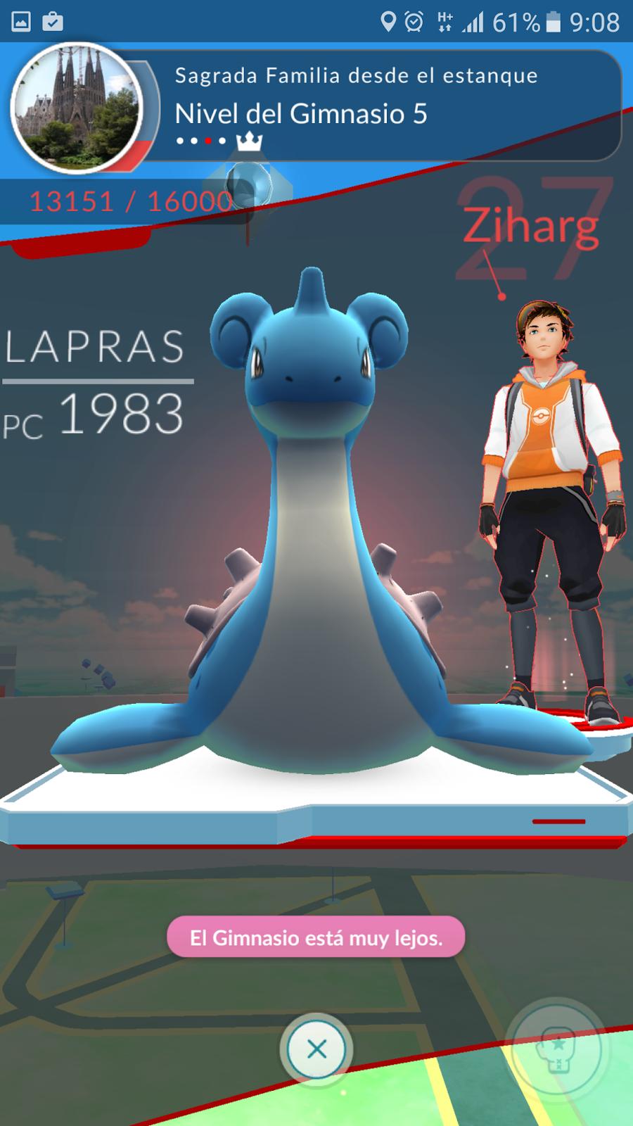 Los pok mon lideres de gimnasios en pok mon go barcelona for Gimnasio 8 pokemon reloaded