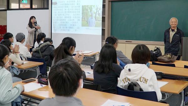 種樹詩人吳晟大葉大學開講 台灣原生樹種打造純園
