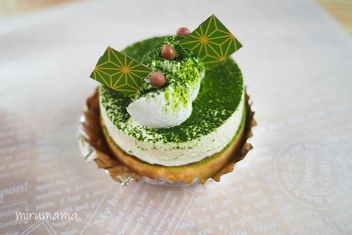 グリュッケンベルグ、抹茶のケーキ
