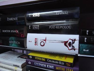 knihy od Stephena Kinga