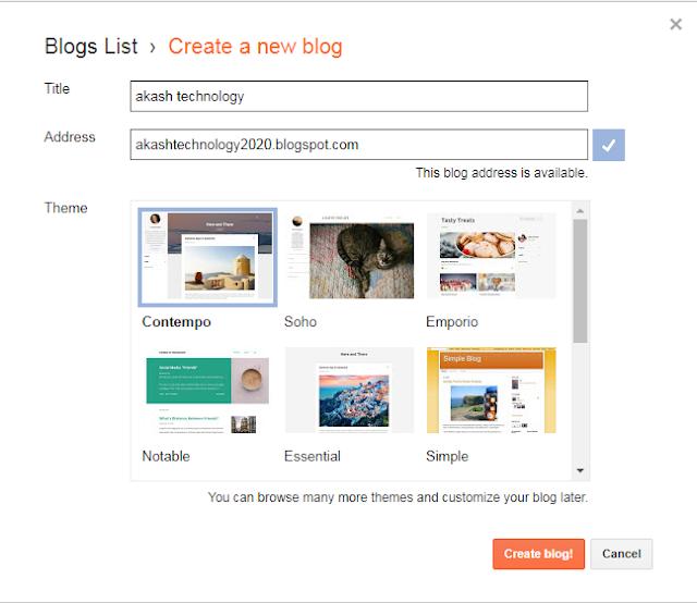 फ्री Blog Website कैसे बनाएं ? 2020 ONLINE JOBS