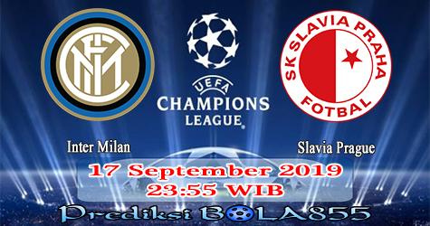 Prediksi Bola855 Inter Milan vs Slavia Prague 17 September 2019