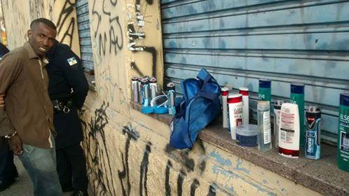 GCMs de Santo André da 1º Inspetoria detém meliante após furtar produtos do Carrefour