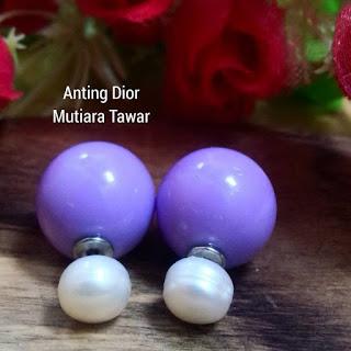 Giwang Dior Mutiara Lombok