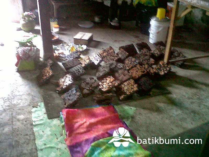 Stempel batik cap