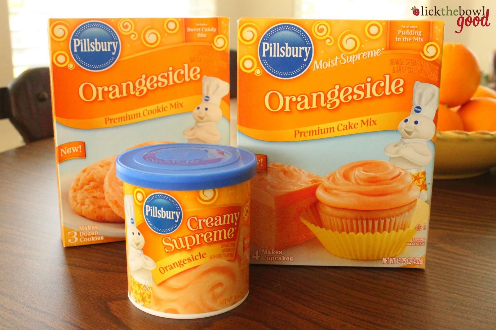 Pillsbury Creamsicle Cake Mix