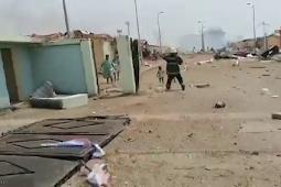 4 Ledakan Besar Terjadi di Gudang Militer Guinea Khatulistiwa di Kota Bata