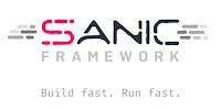 sanic Python async web framework