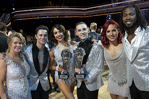 DWTS: Athletes finalists and winners