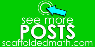 Scaffolded Math and Science blog home