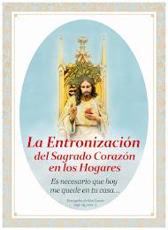 LA ENTRONIZACIÓN DEL SAGRADO CORAZÓN DE JESÚS