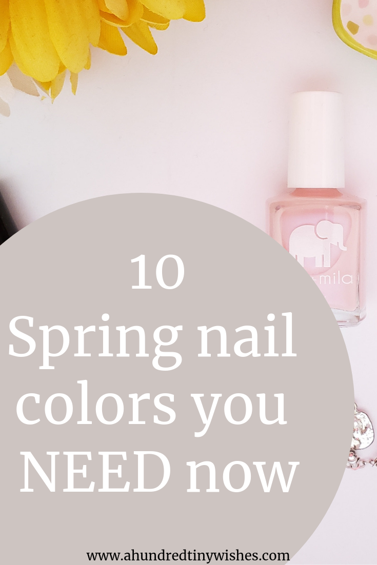nail colors, spring nail colors, pretty nail colors