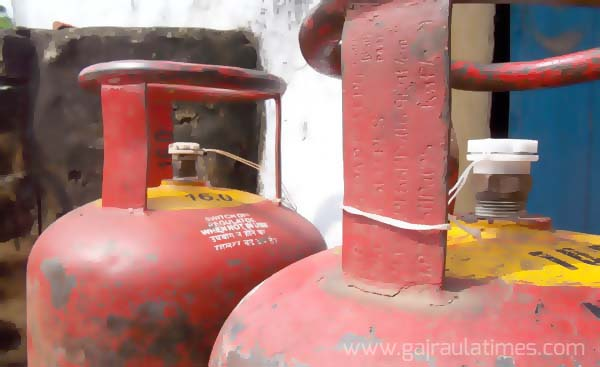 gas cylinder in amroha