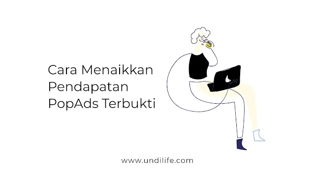 Penghasilan iklan Popads