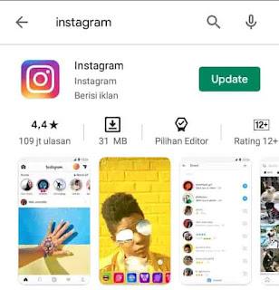 cara ganti theme instagram