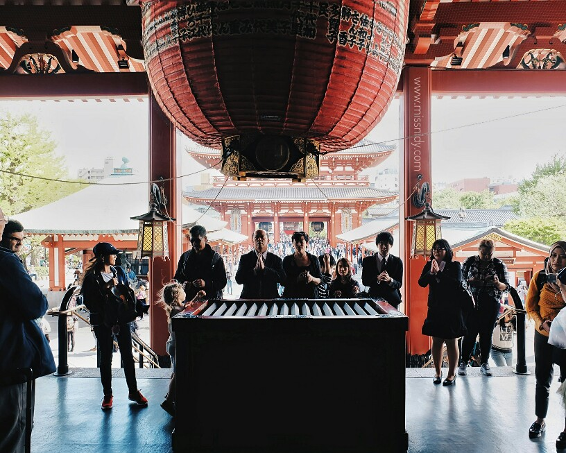 the largest buddhist temple in tokyo