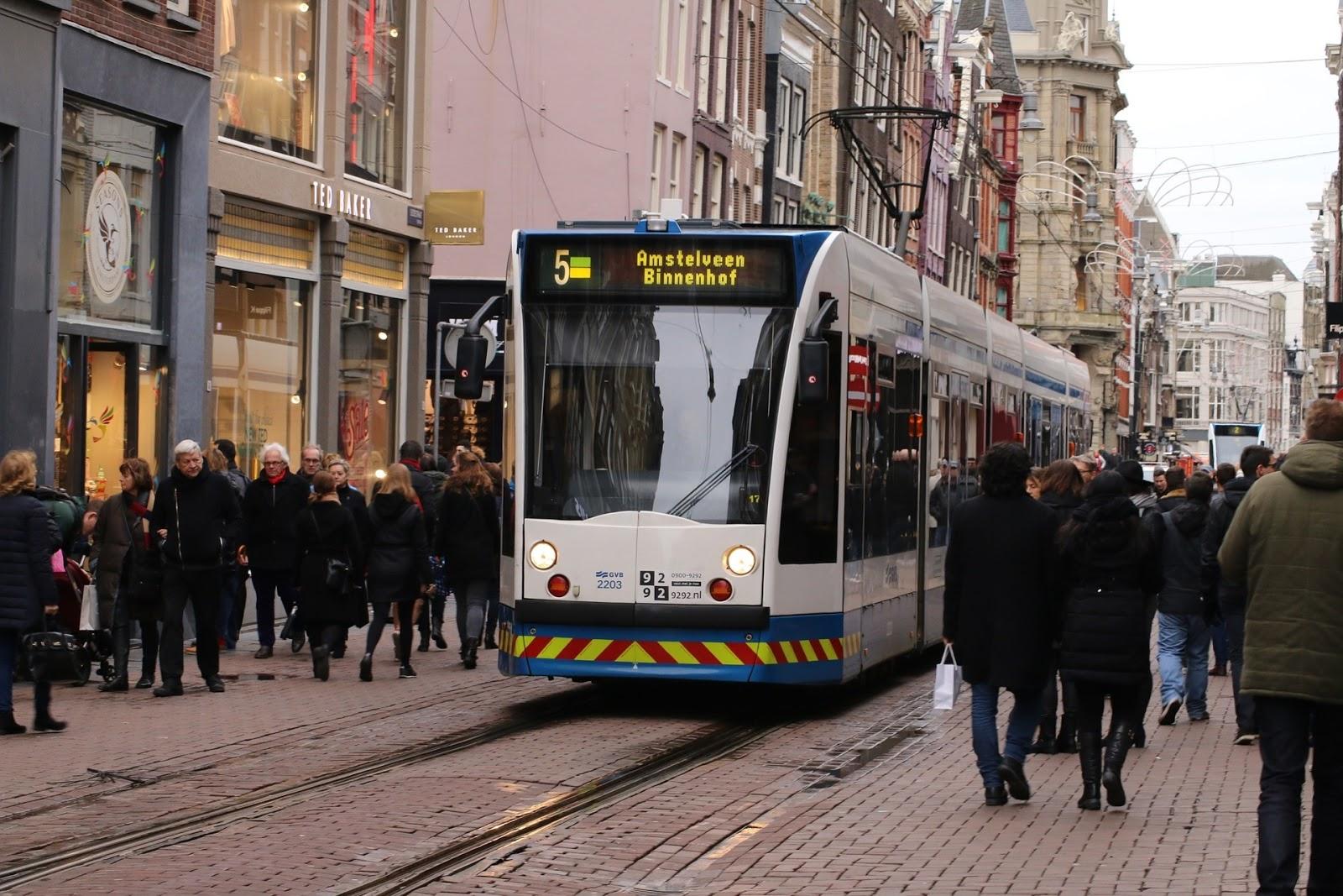 Komunikacja miejska w Amsterdamie
