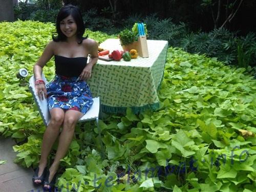 Foto Payudara Chef Marinka