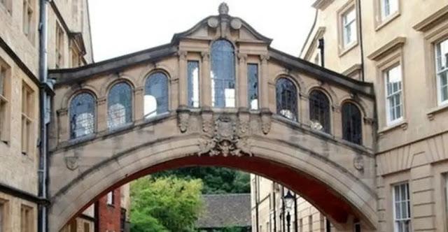 The Bridge of Sighs Oxfordshire