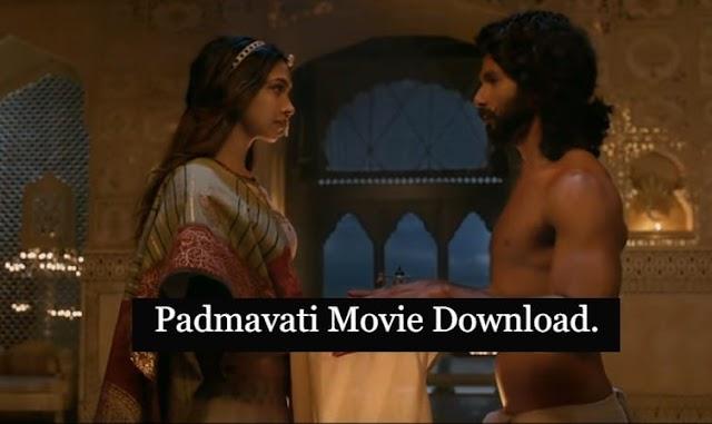 Padmavati Movie Download Free In HD 720p