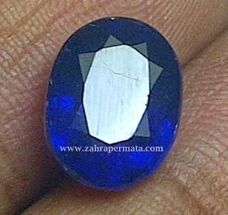 Batu Permata Royal Blue Saphire + Memo - ZP 325