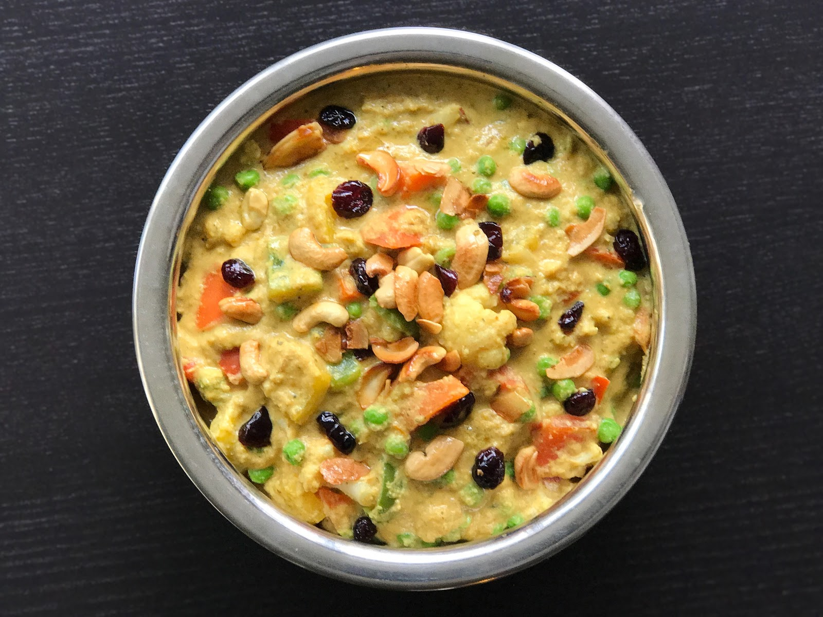 Fueling with Flavour: Vegan Navratan Korma