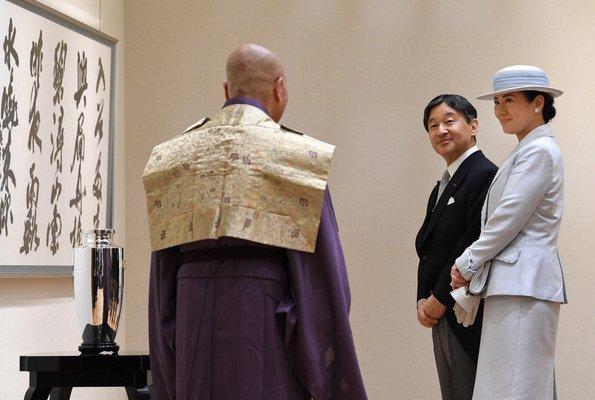 Emperor Naruhito and Empress Masako, Crown Prince Fumihito, Crown Princess Kiko, Princess Mako and Princess Kako
