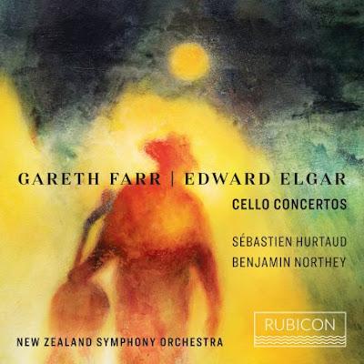 Elgar Cello Concerto, Gareth Farr Cello Concerto: Chemin des Dames; Sébastien Hurtaud, New Zealand Symphony Orchestra, Benjamin Northey; Rubicon