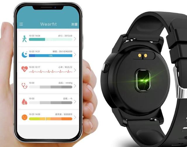 app Wearfit android ios NY01