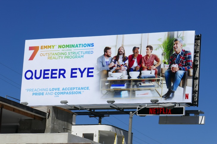 Queer Eye 7 Emmy nominations billboard