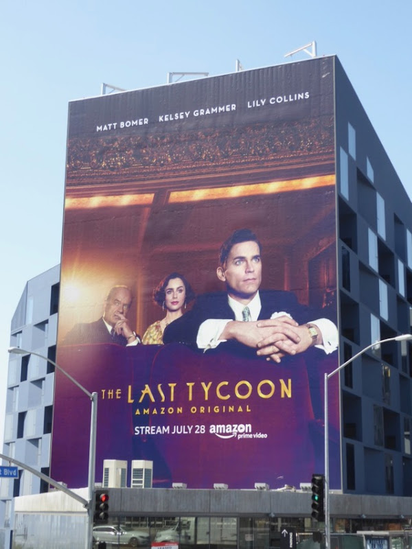 Last Tycoon TV remake billboard
