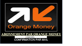 ABONNEMENT PAR ORANGE MONEY